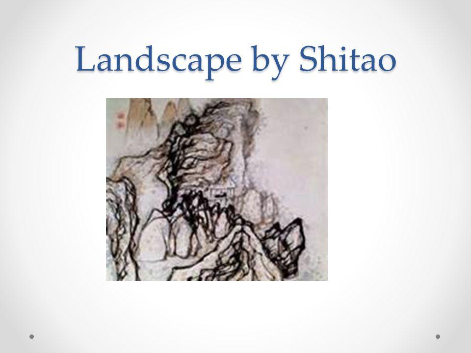 Landscape by Shitao
