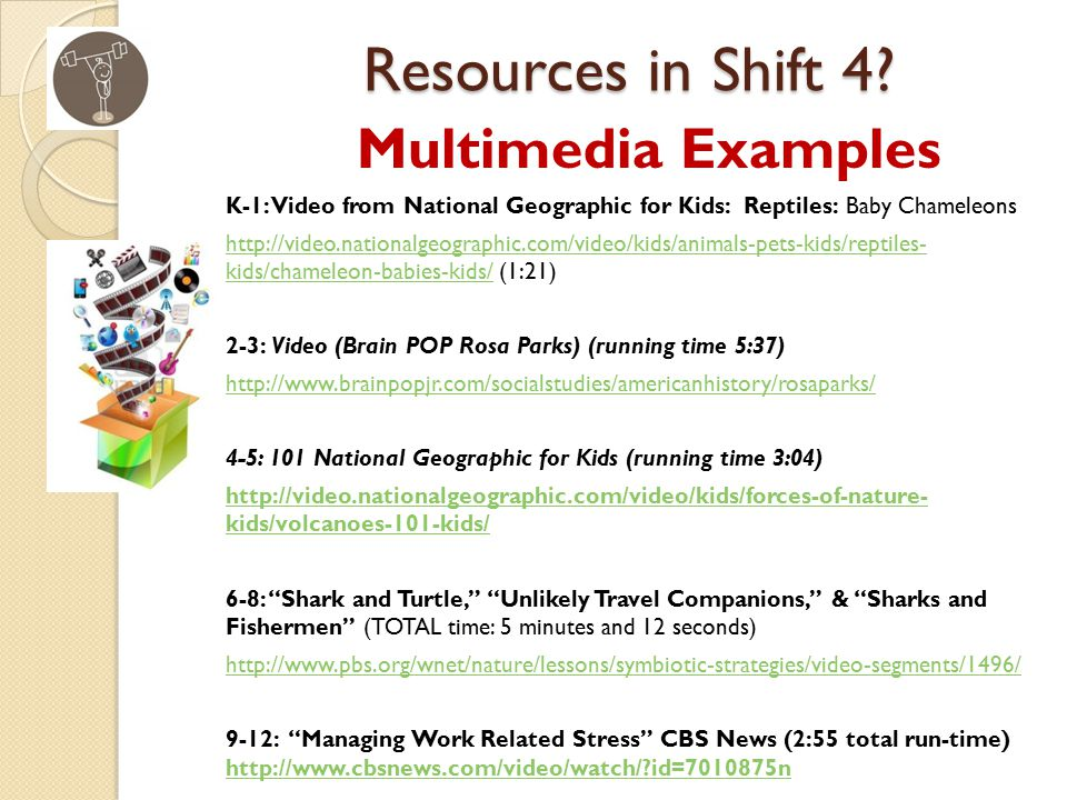 Resources in Shift 4.