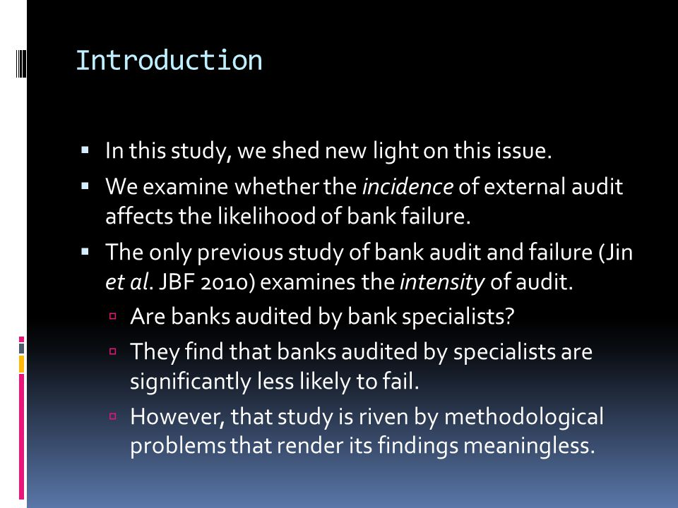 Introduction  In this study, we shed new light on this issue.