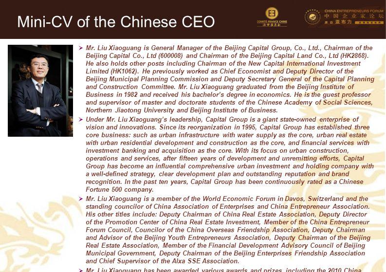 34 Mini-CV des Membres de la Délégation Officielle (6)  Mr.