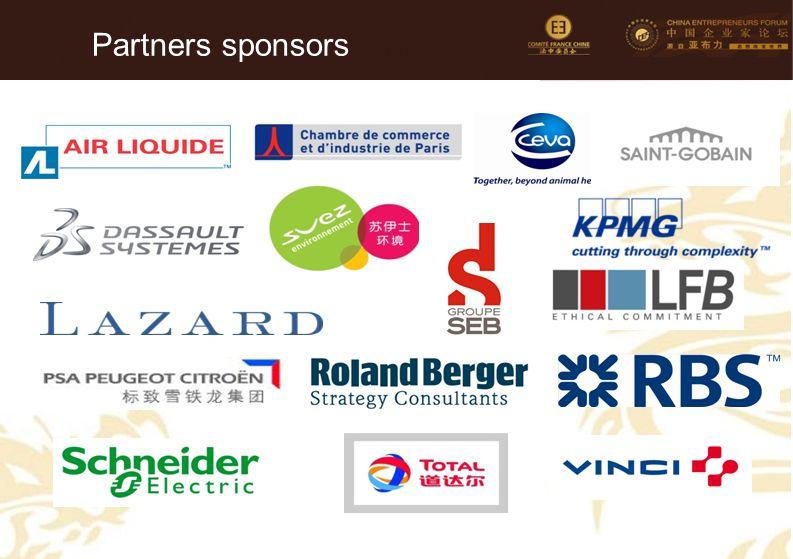 87 Partners sponsors