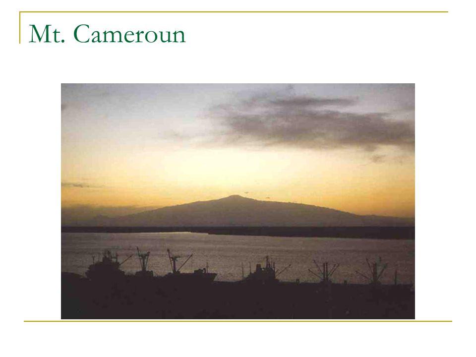 Mt. Cameroun