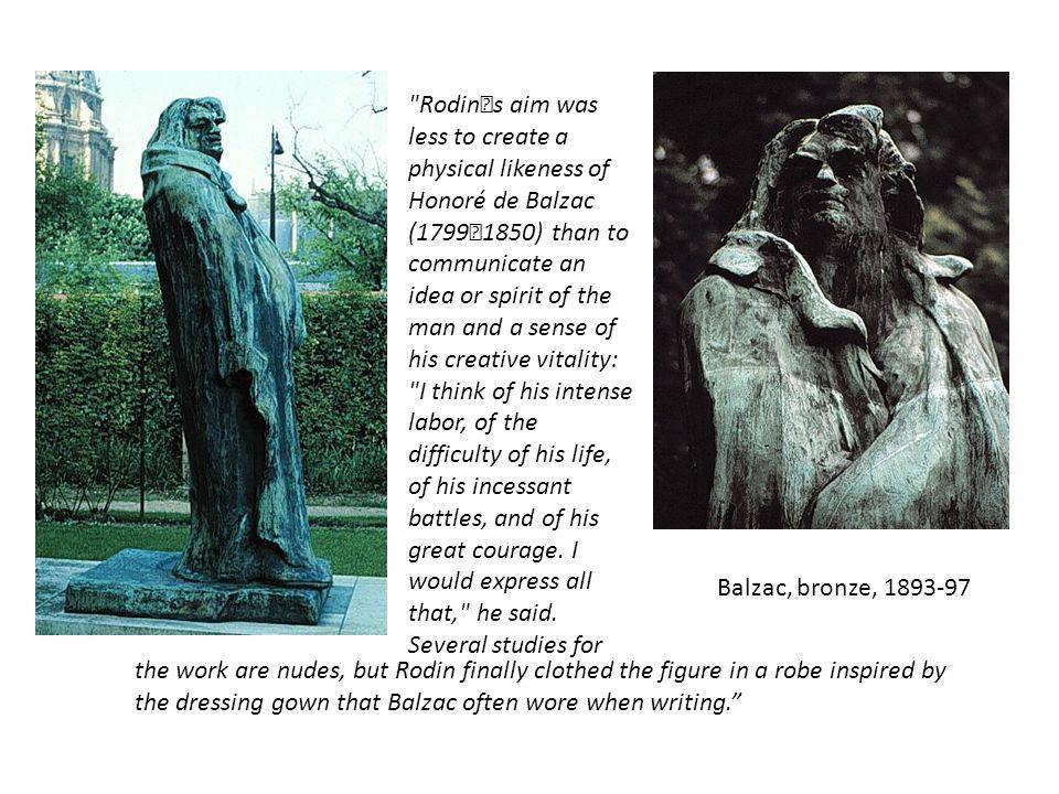 Balzac, bronze, 1893-97