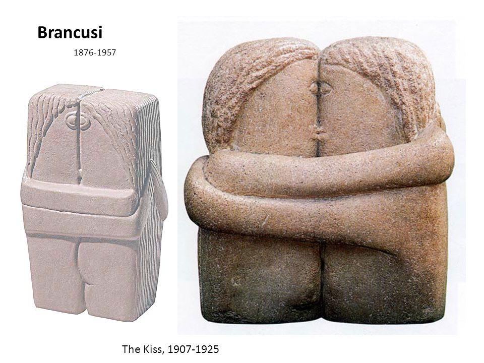 Brancusi 1876-1957 The Kiss, 1907-1925