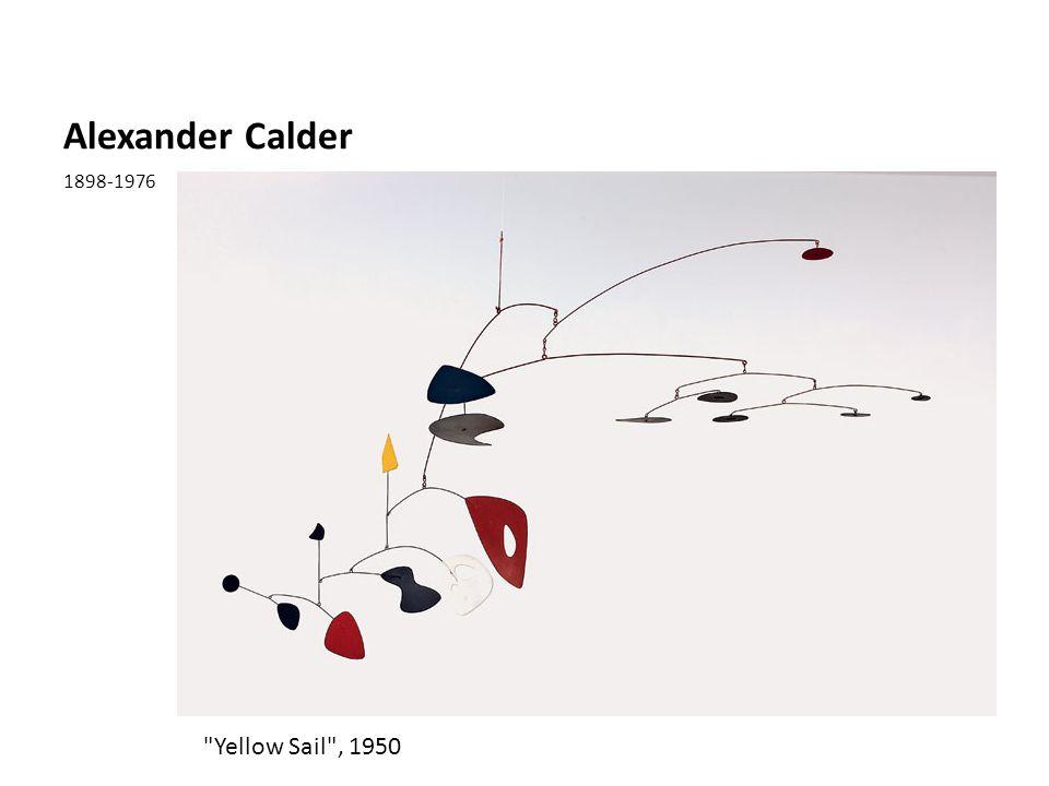 Alexander Calder 1898-1976 Yellow Sail , 1950