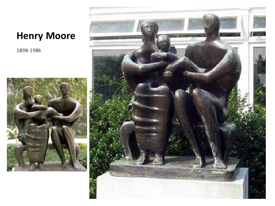 Henry Moore 1898-1986