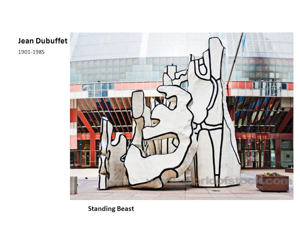 Jean Dubuffet 1901-1985 Standing Beast