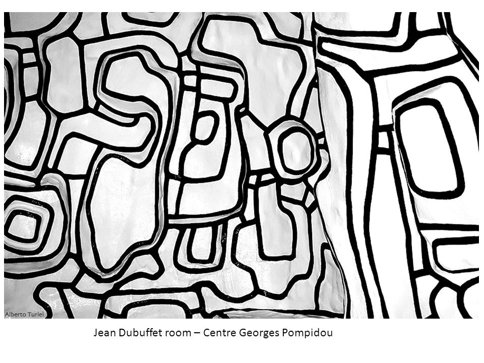 Jean Dubuffet room – Centre Georges Pompidou