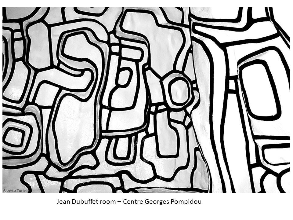 Jean Dubuffet room – Centre Georges Pompidou