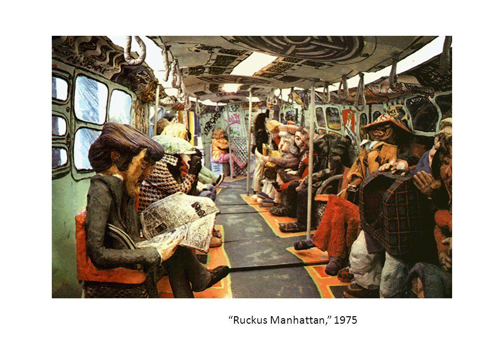 """""""Ruckus Manhattan,"""" 1975"""