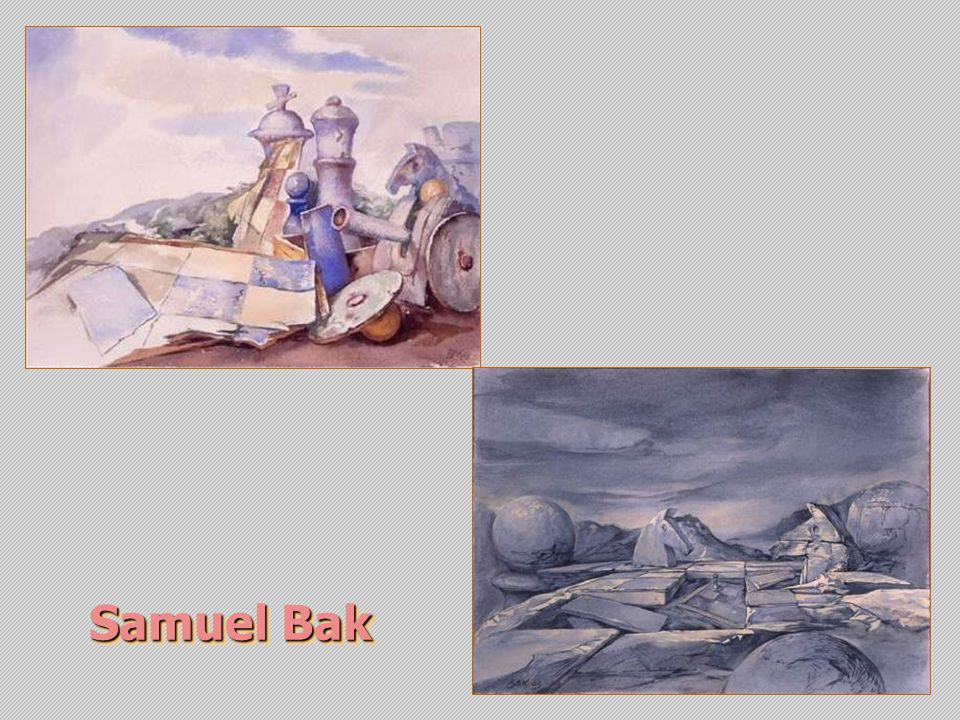 INTRUDER Samuel Bak Samuel Bak INTRUDER