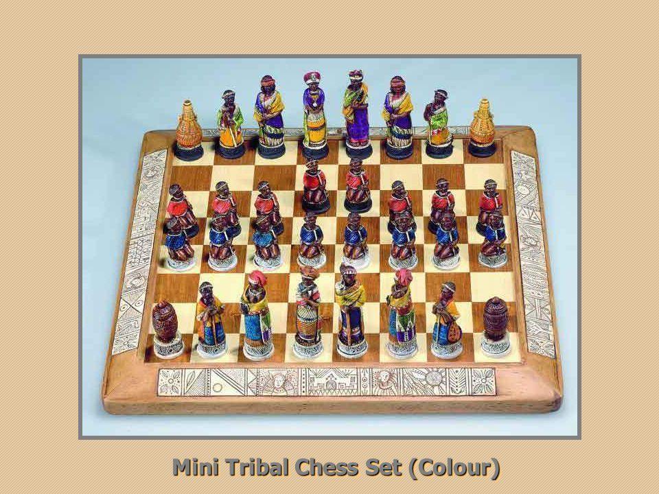 Anglo Boer War chess set