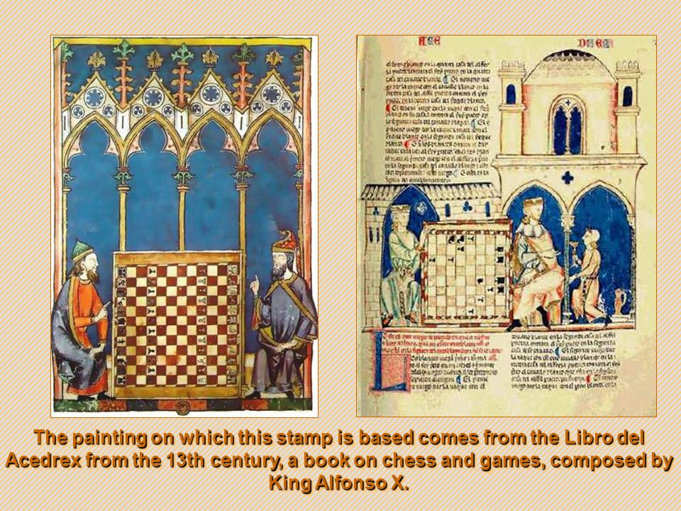 Book of Games Libro de ajedrez, dados y tablas (The Book of chess, dice and tables ) was commissioned by Alfonso X, king of Le ó n and Castile, during the 13th century between 1251 and 1283 AD.