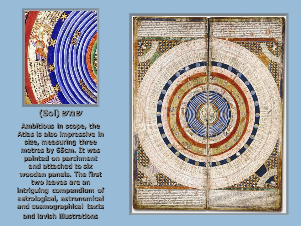 Cosmographical diagram: the Earth, personified by an astronomer holding an astrolabe, is situated in the center of the Universe.