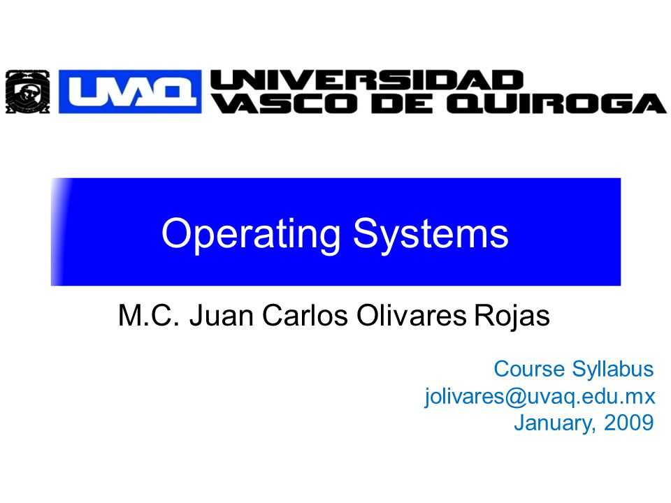 Operating Systems M.C.