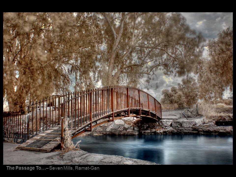 The Passage To…– Seven Mills, Ramat-Gan