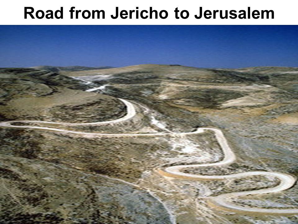 Road from Jericho to Jerusalem