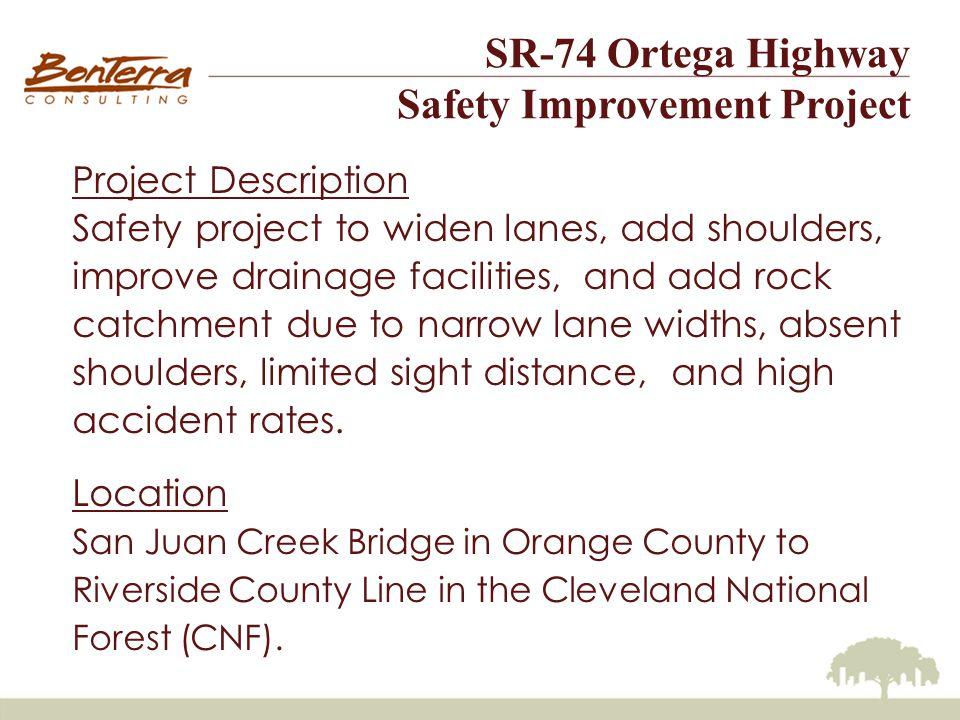 SR-74 Ortega Highway Safety Improvement Project Invasive Species – American Bullfrog Larvae eat organic debris, algae, plant tissue, suspended matter and aquatic invertebrates.