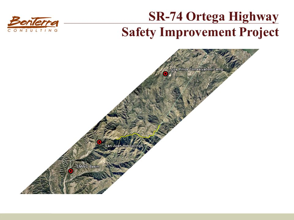 Site #2 SR-74 Ortega Highway Safety Improvement Project