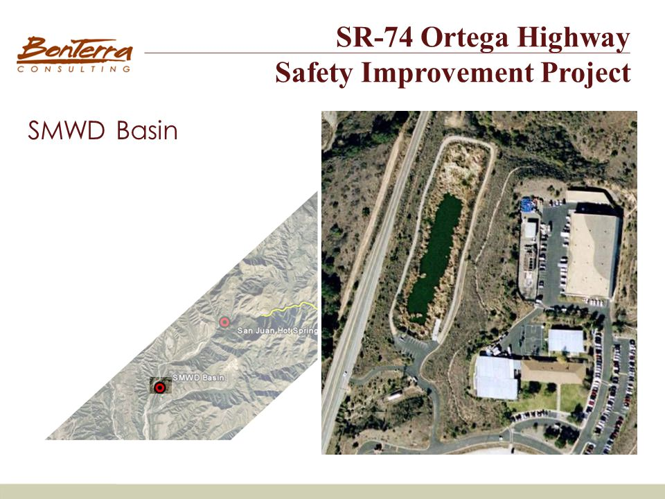 Site #1 SMWD Basin SR-74 Ortega Highway Safety Improvement Project