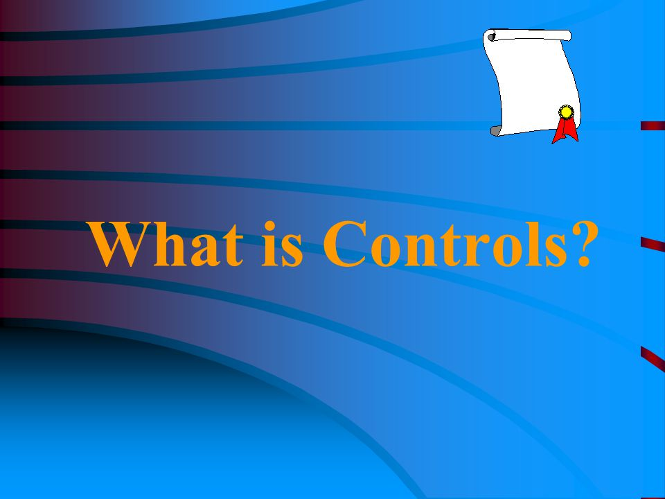 What is Controls?
