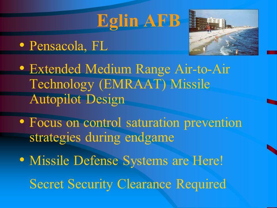 Eglin AFB Pensacola, FL Extended Medium Range Air-to-Air Technology (EMRAAT) Missile Autopilot Design Focus on control saturation prevention strategie