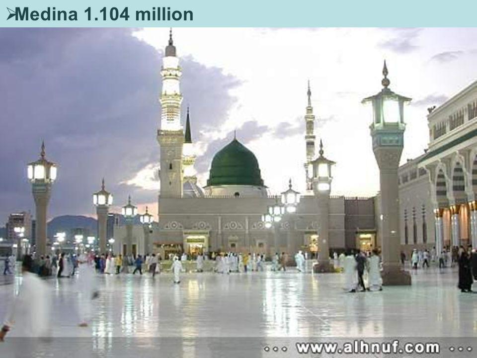  Medina 1.104 million