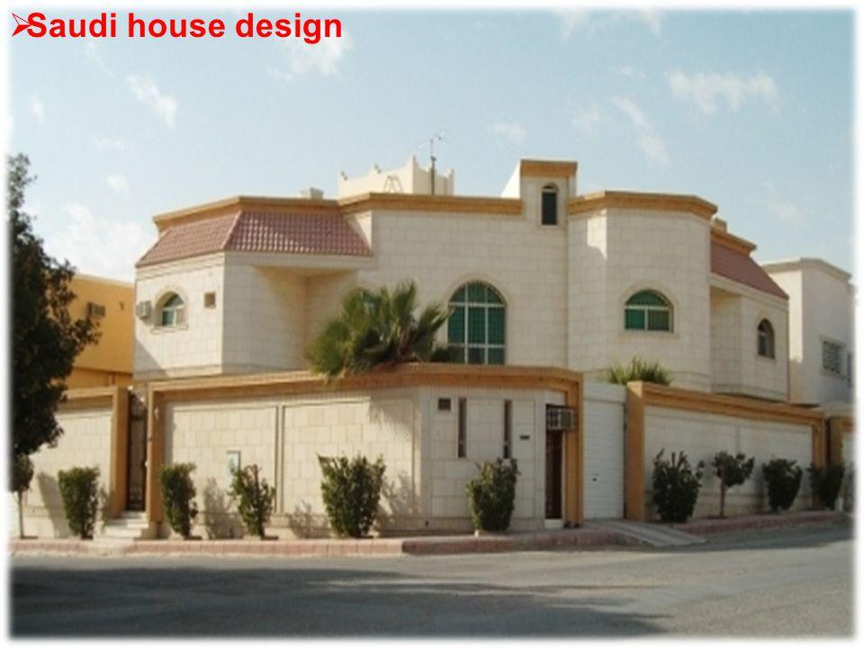  Saudi house design