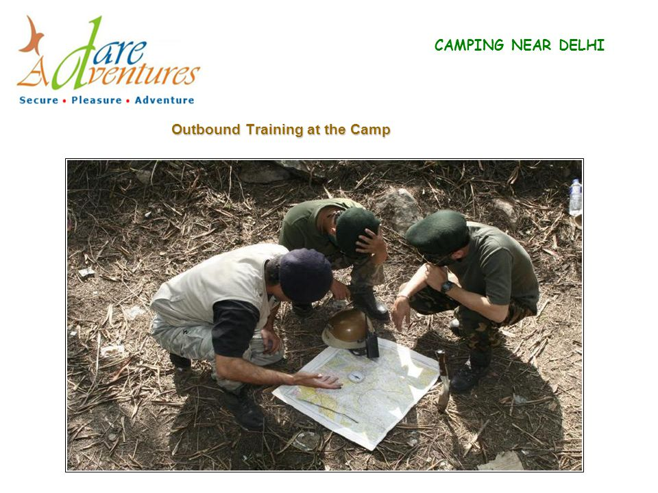 Outbound Training at the Camp