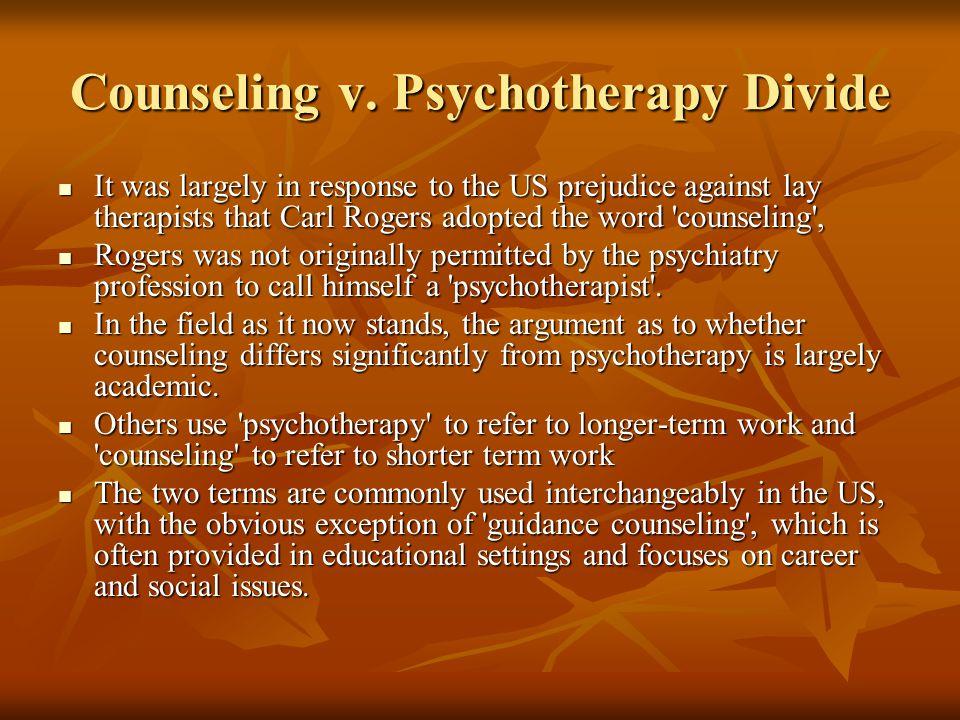 Counseling v.