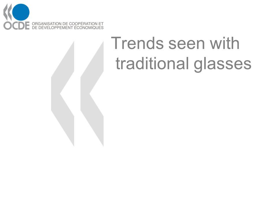 Trends seen with traditional glasses