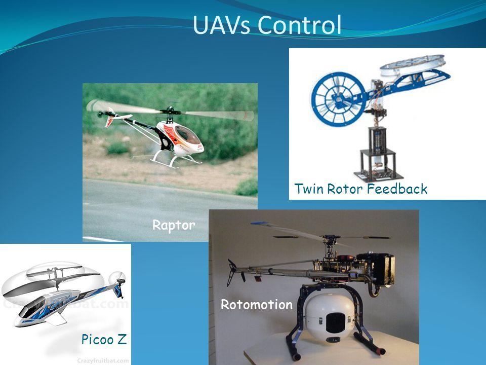 Twin Rotor Feedback Raptor Picoo Z Rotomotion UAVs Control
