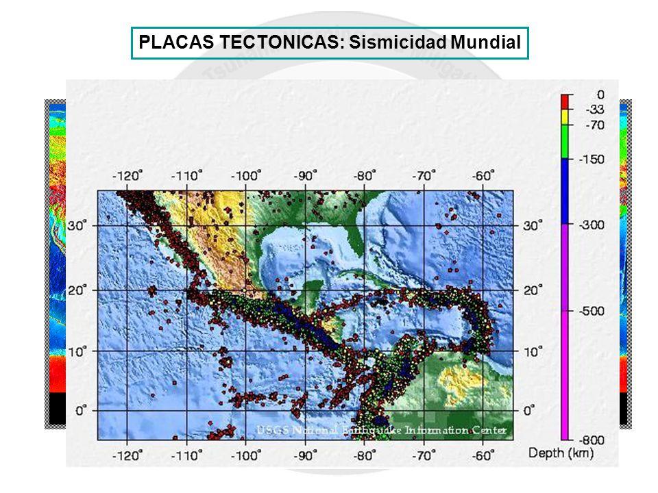 CARIBBEAN PLATE PUERTO RICO PLACAS TECTONICAS: Sismicidad Mundial