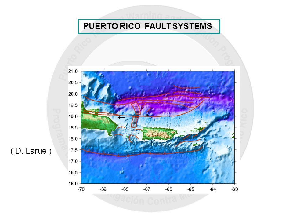 || ( D. Larue ) PUERTO RICO FAULT SYSTEMS