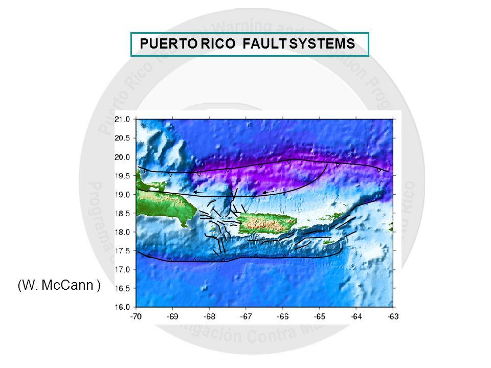 PUERTO RICO FAULT SYSTEMS (W. McCann )