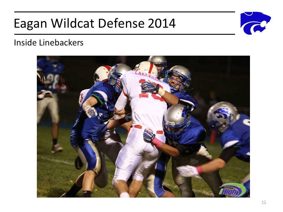 Eagan Wildcat Defense 2014 12 Inside Linebackers