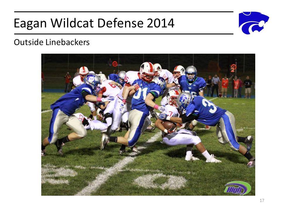 Eagan Wildcat Defense 2014 17 Outside Linebackers