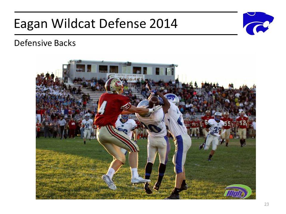 Eagan Wildcat Defense 2014 23 Defensive Backs