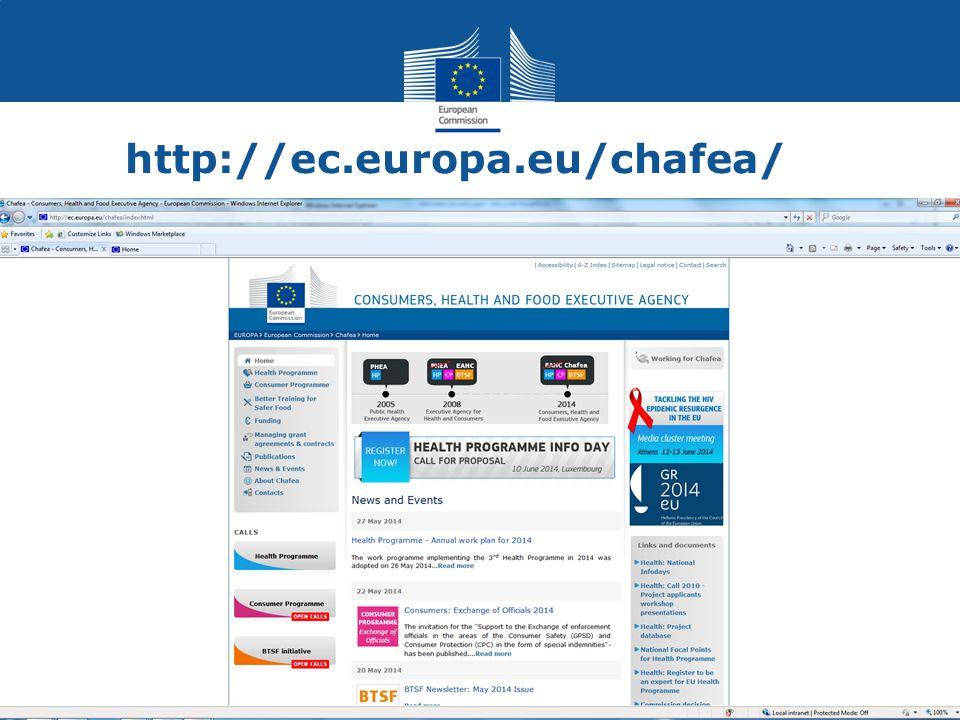 http://ec.europa.eu/chafea/