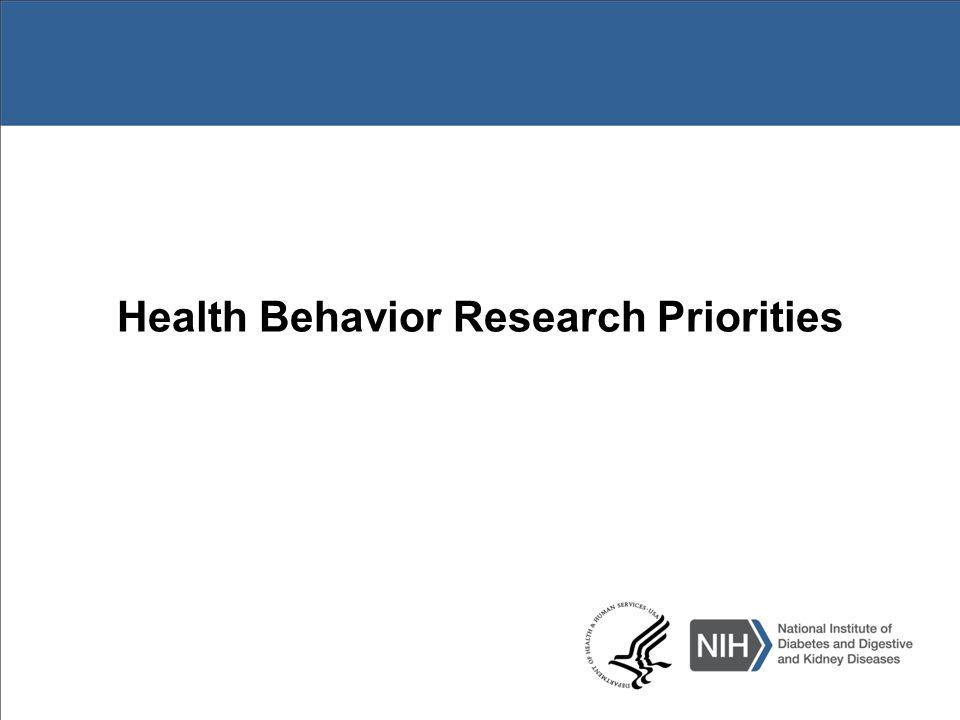 Strategic Plans http://www.obesityresearch.nih.gov/about/strategic-plan.aspx http://www.niddk.nih.gov/about-niddk/strategic-plans- reports/Pages/advances-emerging-opportunities-in-diabetes- research.aspx