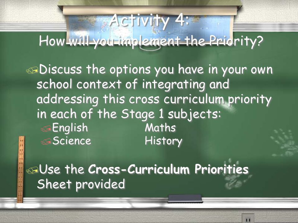 Activity 4: How will you implement the Priority.