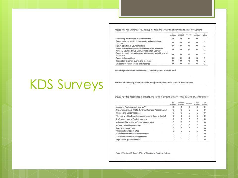 KDS Surveys