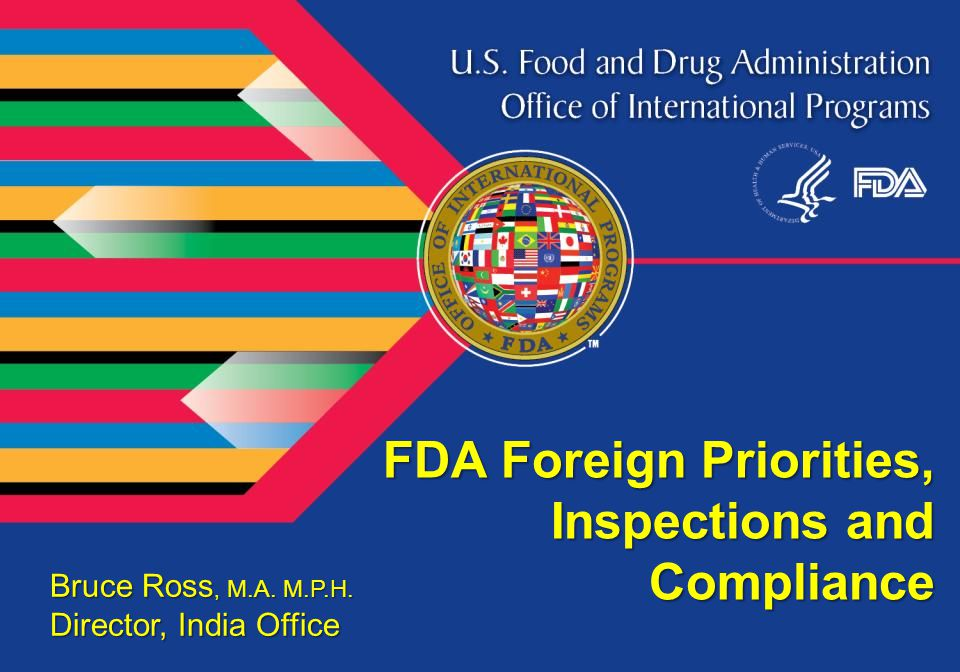 Agenda Priorities Challenges of globalization cGMP deficiencies Comparison Post inspection regulatory actions 2