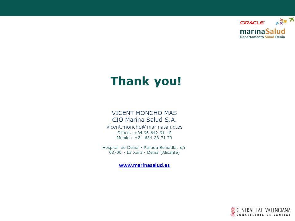 Selección e integración de profesionales en modelo concesional preexistiendo estructura sanitaria Thank you.