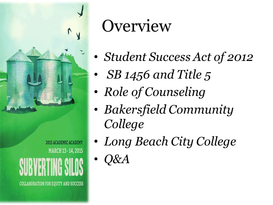 Student Success Act of 2012 Gov.