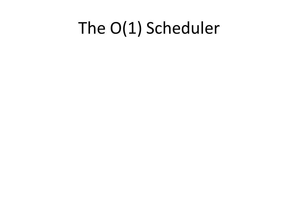 The O(1) Scheduler