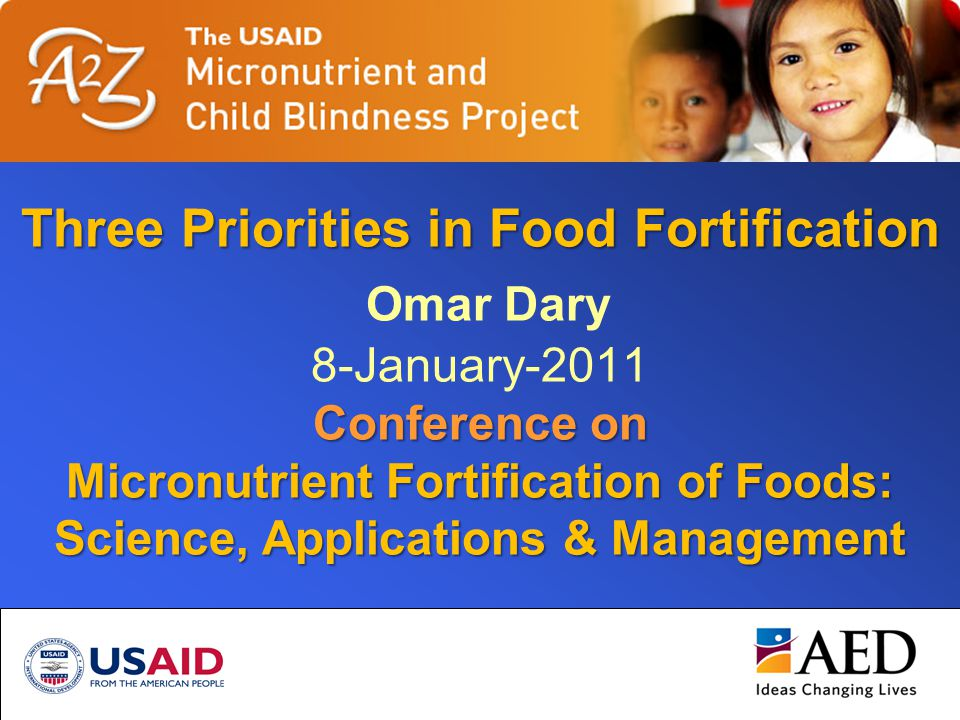 OD-2011-03-India-Priorities2 Objective of Food Fortification = Increase intake Total Abs.Initial absorption+ Additional Abs.