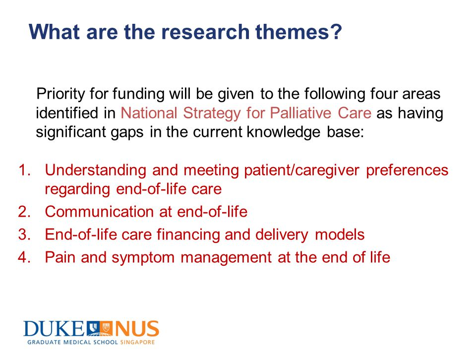 What are the research themes.