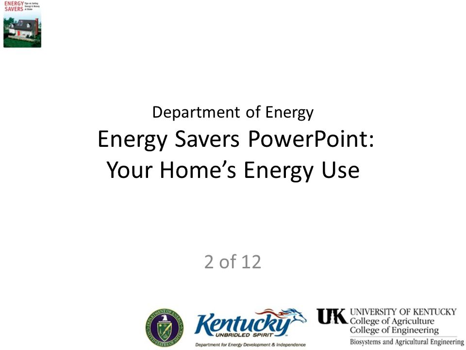 Energy Auditing Tips Read and follow all maintenance manuals
