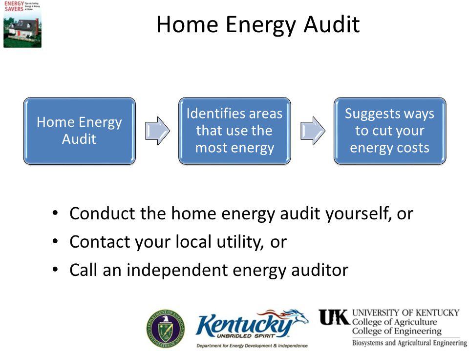 Energy Auditing Tips 6 easy energy auditing tips